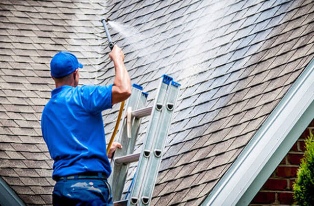 grand rapids roof cleaning